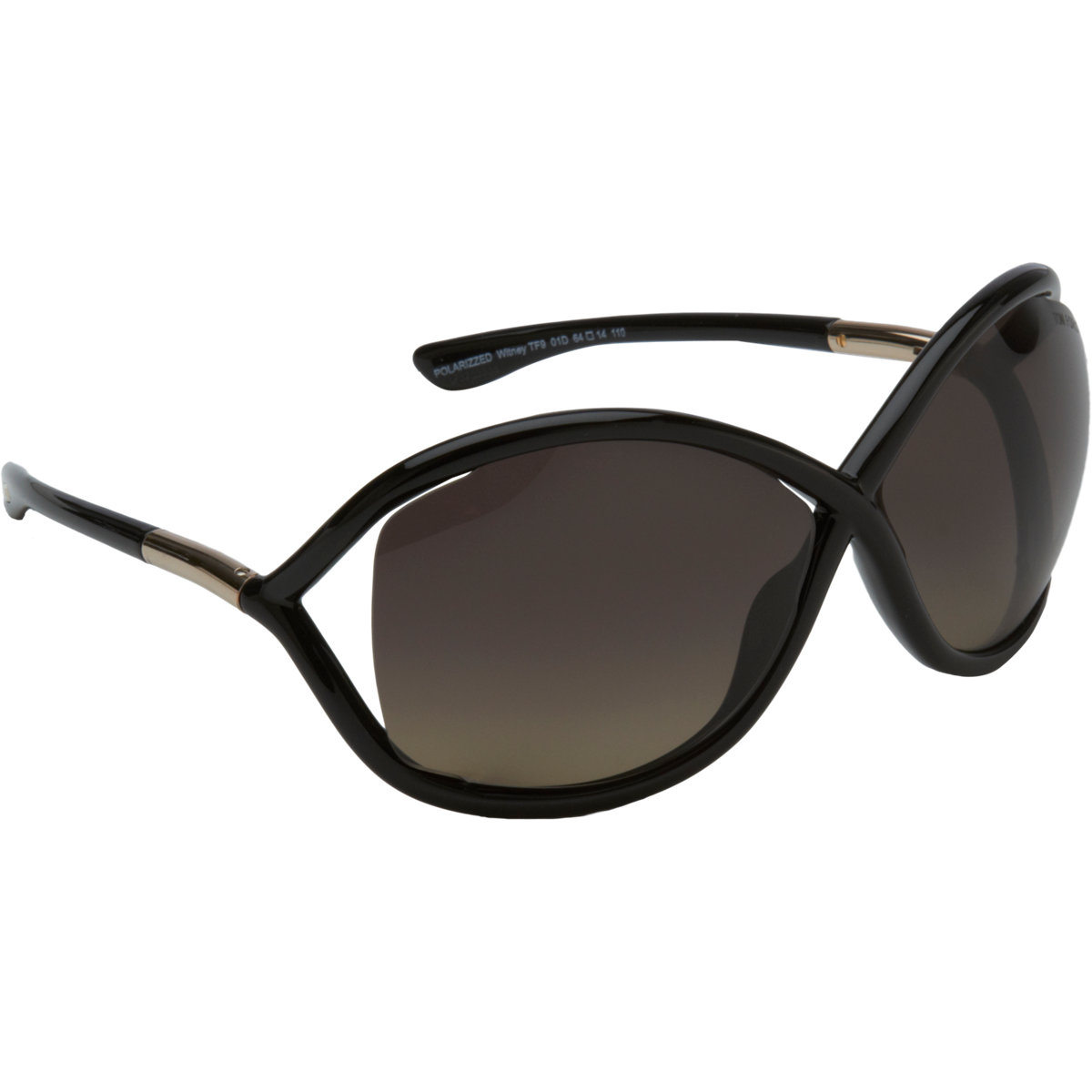tom ford women 39 s whitney sunglasses in black lyst. Black Bedroom Furniture Sets. Home Design Ideas