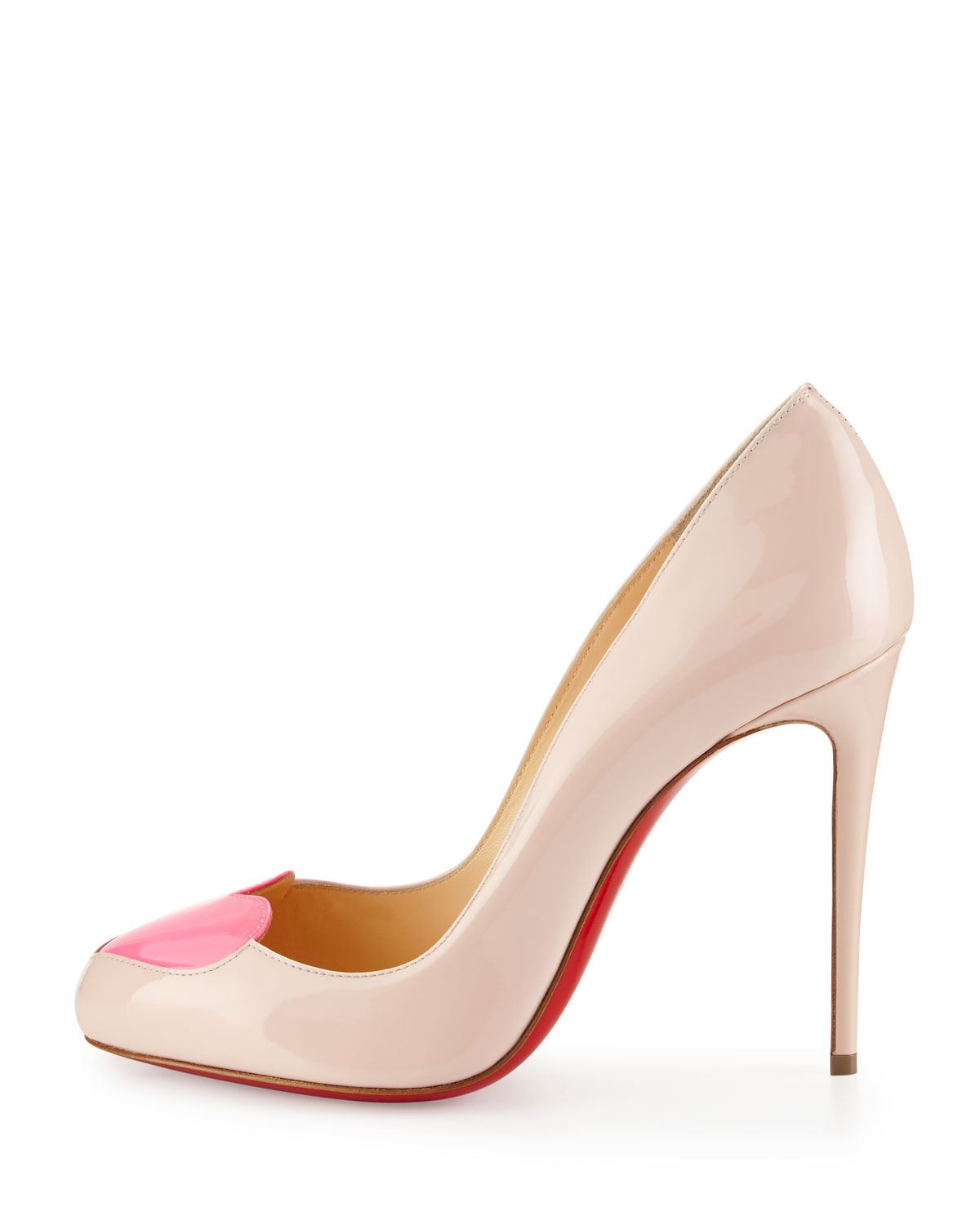 christian louboutin shoes with heart