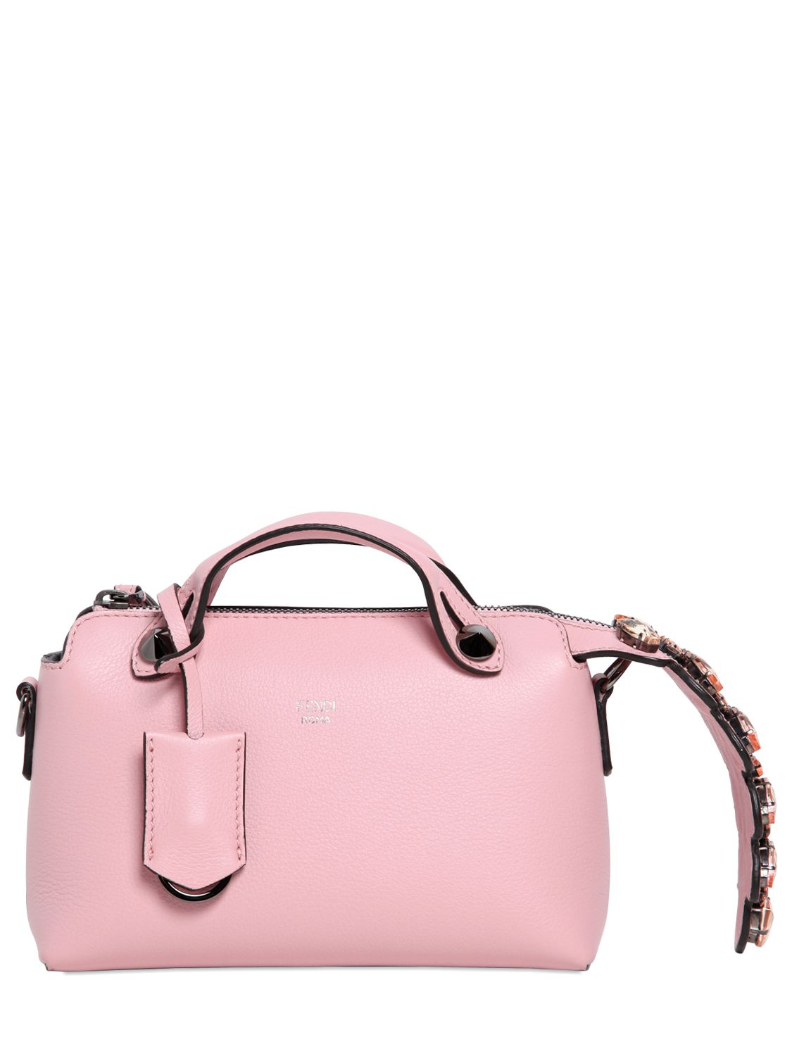0ba97466fcad ... good lyst fendi mini by the way leather shoulder bag in pink 51b5b  d0bdd ...