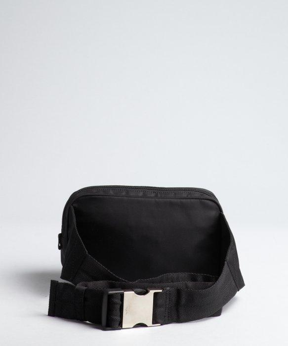 Prada Black Tessuto Waist Bag in Black for Men | Lyst
