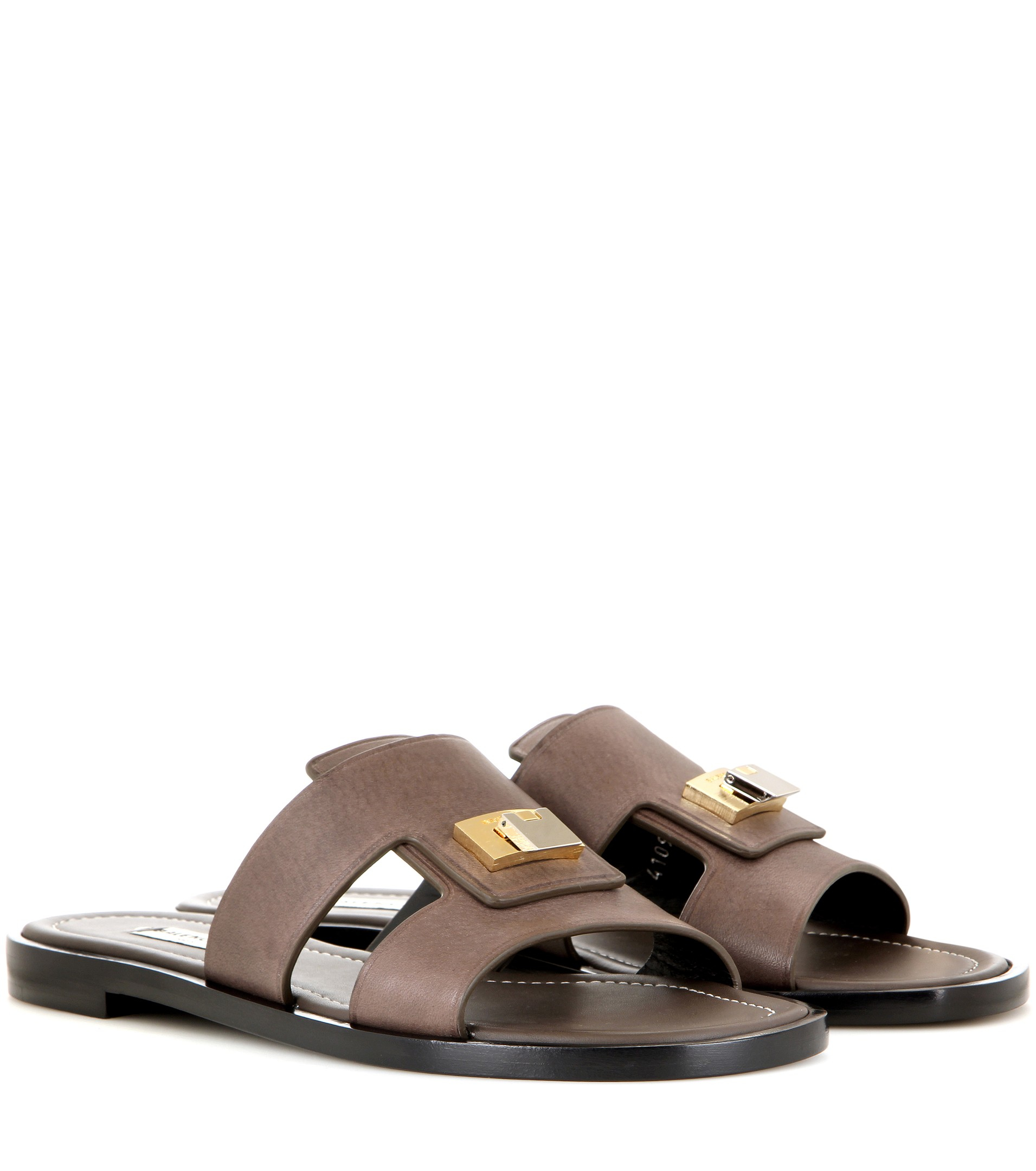 Balenciaga Embellished Leather Sandals new arrival cheap price QecmA1nsCZ