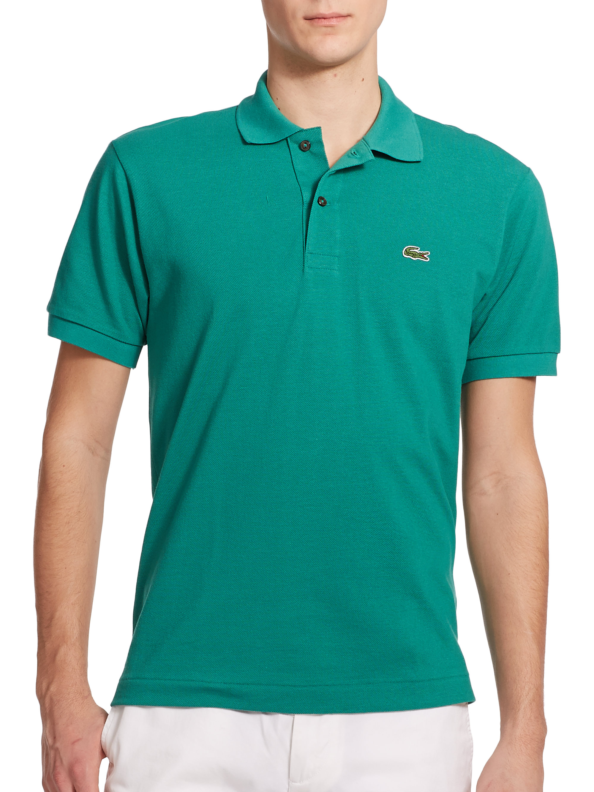 9700aae46 Lacoste Polo Shirts Green