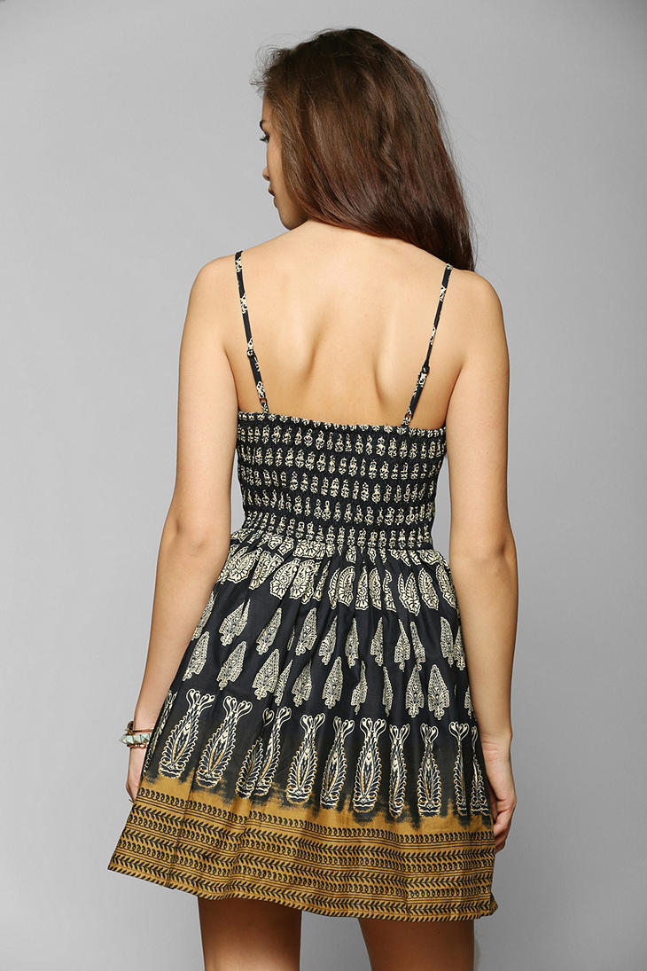 Lyst Urban Outfitters Band Of Gypsies Paisley Fit Flare