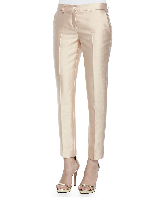Шелковые брюки