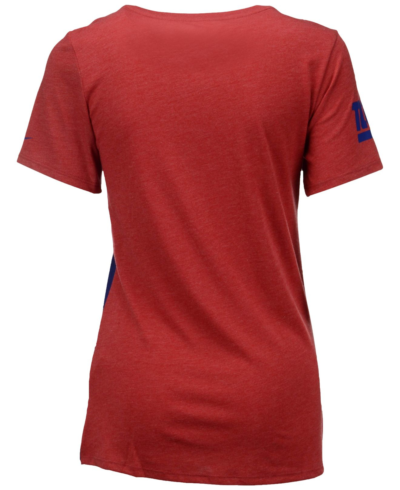 Nike Women 39 S New York Giants Home Away T Shirt In Red Lyst