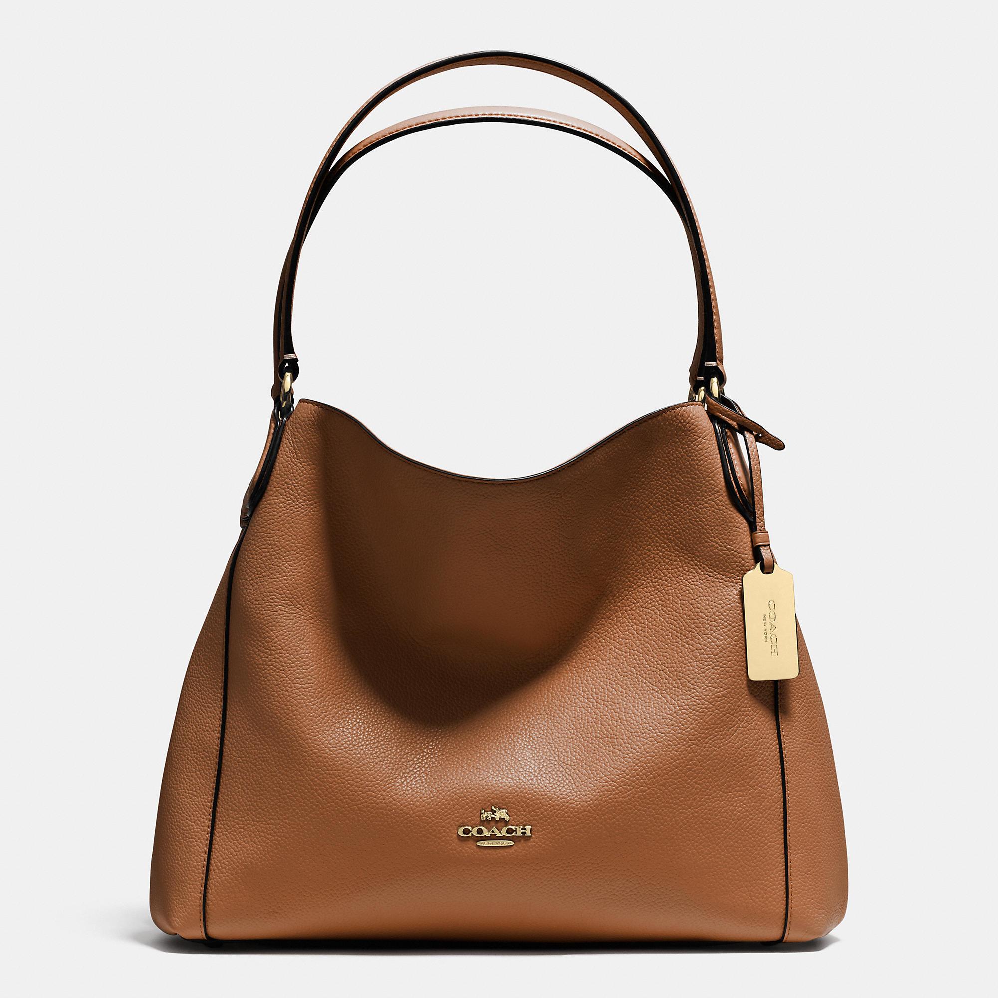 coach dylan leather shoulder bag