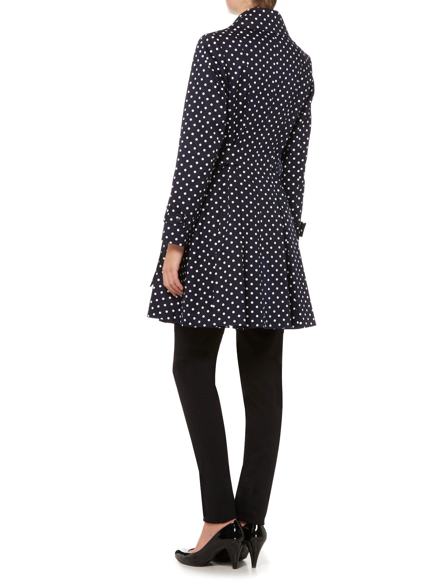 Full Skirt Trench Coat Black - Tradingbasis