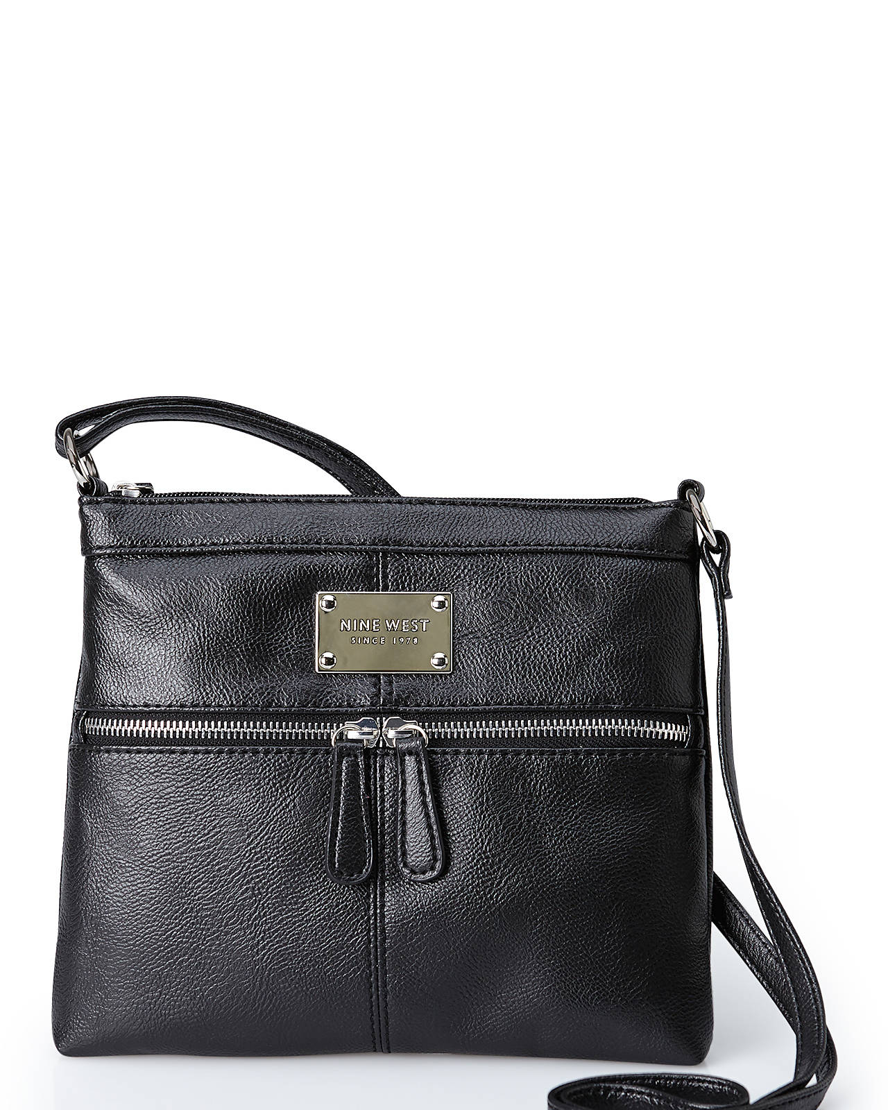 cb841a6cab09 Nine West Black Encino Crossbody Bag