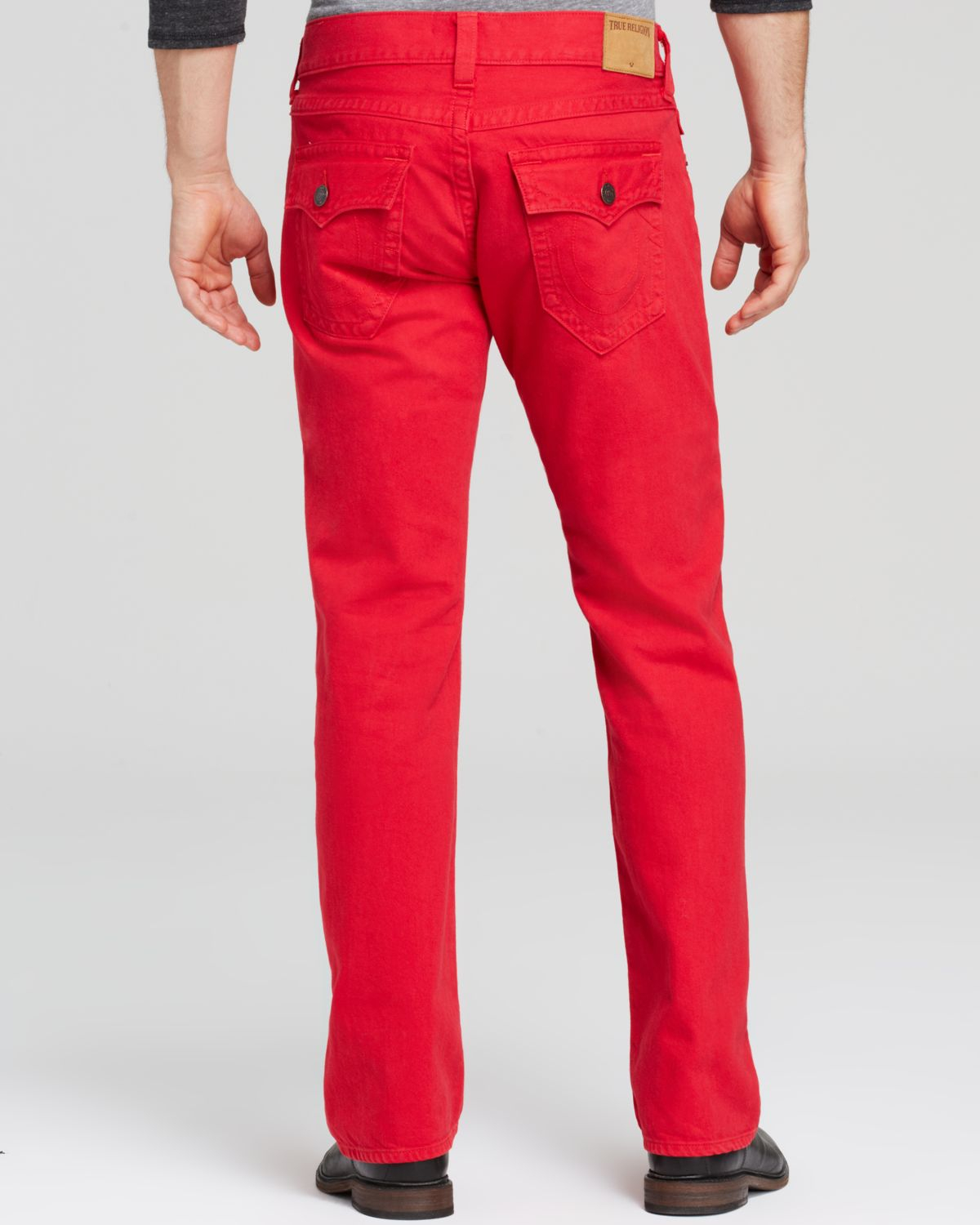 f666b4b22 True Religion Jeans - Ricky Straight Fit In True Red in Red for Men ...
