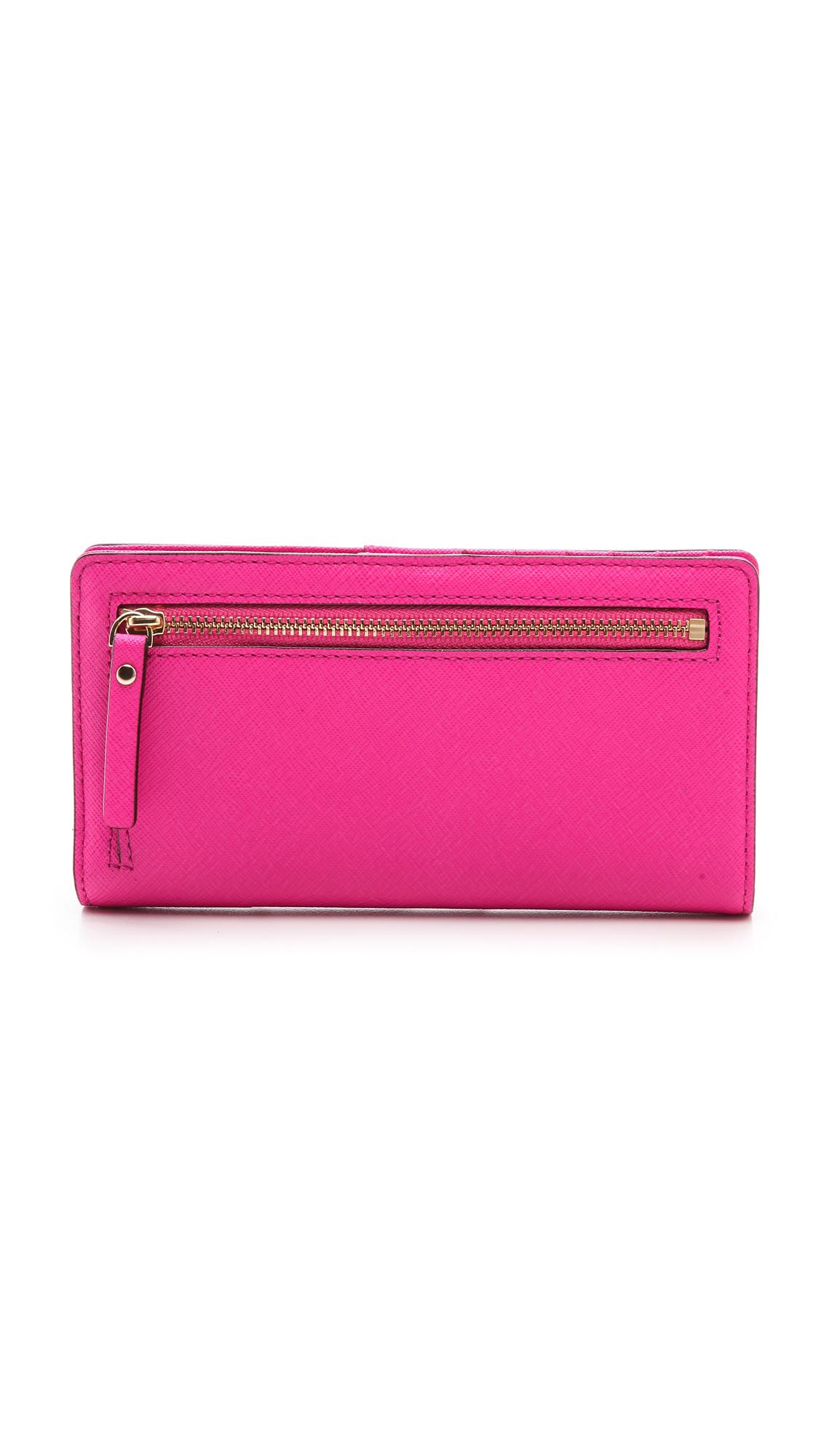 Kate spade new york Cedar Street Stacy Wallet in Pink | Lyst