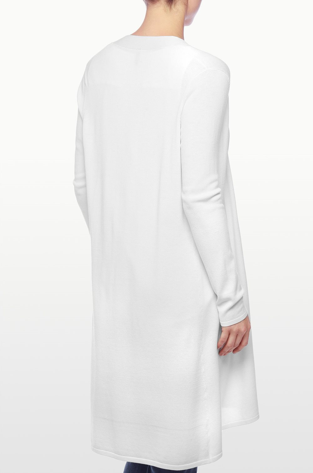 Nydj Duster Cardigan in White | Lyst