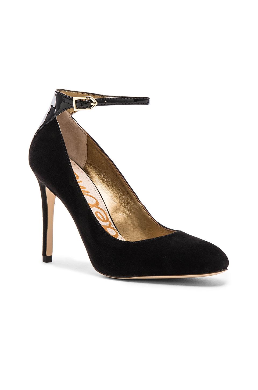 ee88a854aab549 Lyst - Sam Edelman Ciara Heel in Black