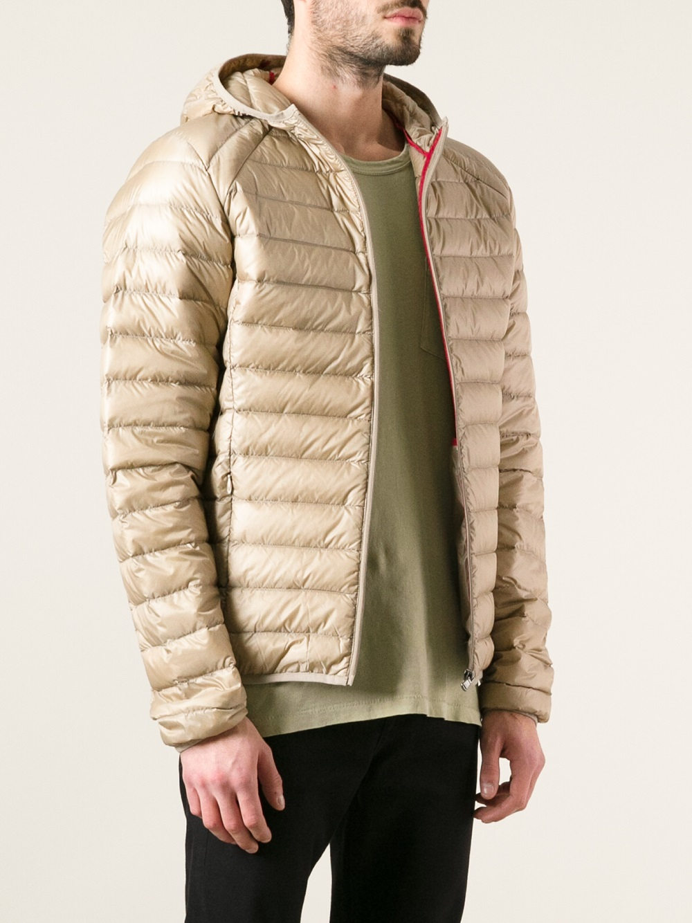 Lyst - J.o.t.t Feather Down Jacket in Natural for Men