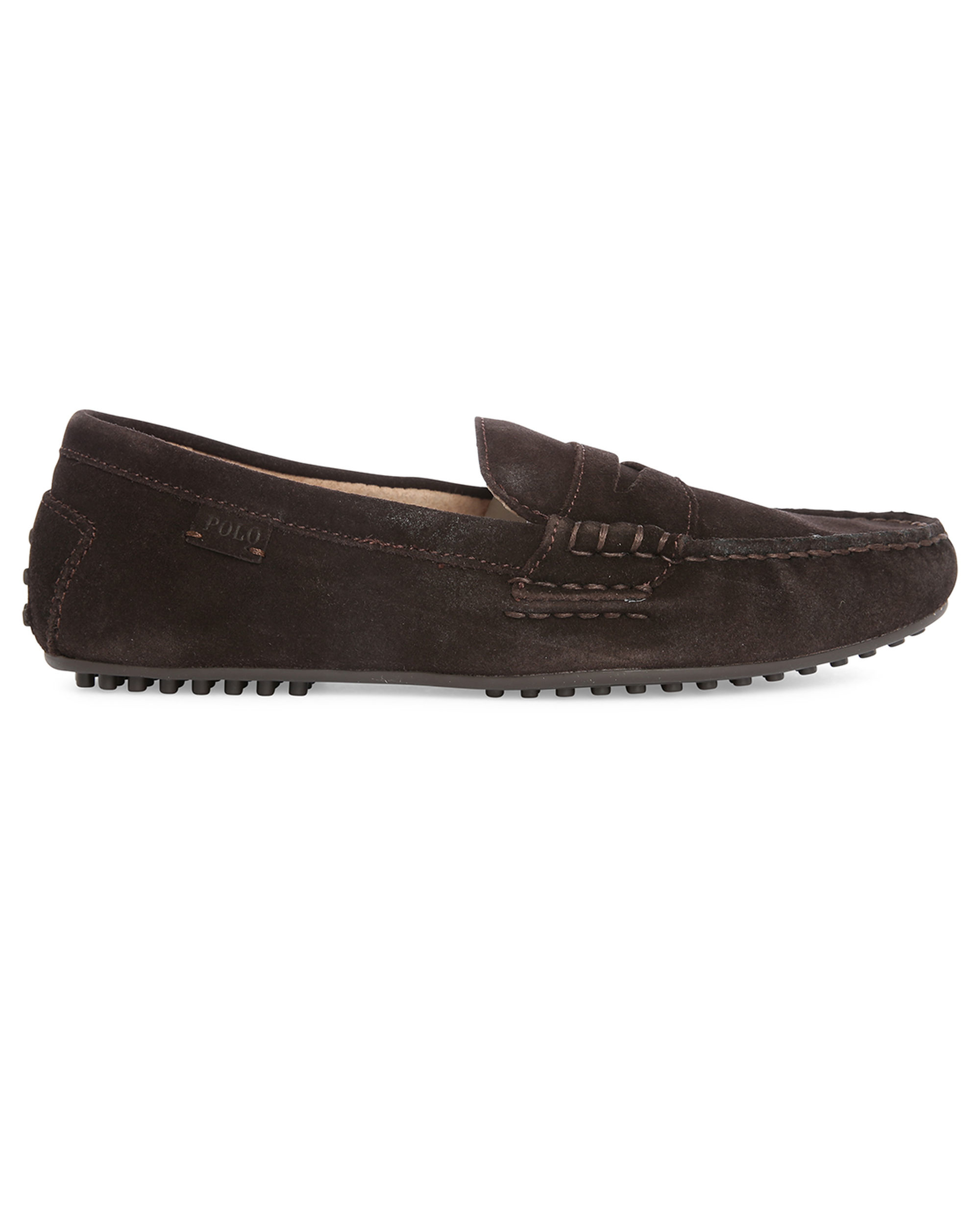 Polo ralph lauren Brown Wes Suede Slip-on in Brown for Men ...