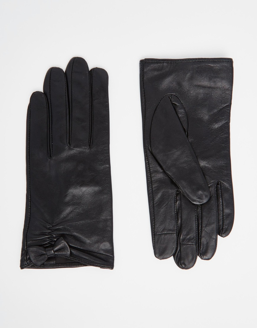 Black leather gloves small - Gallery Women S Leather Gloves