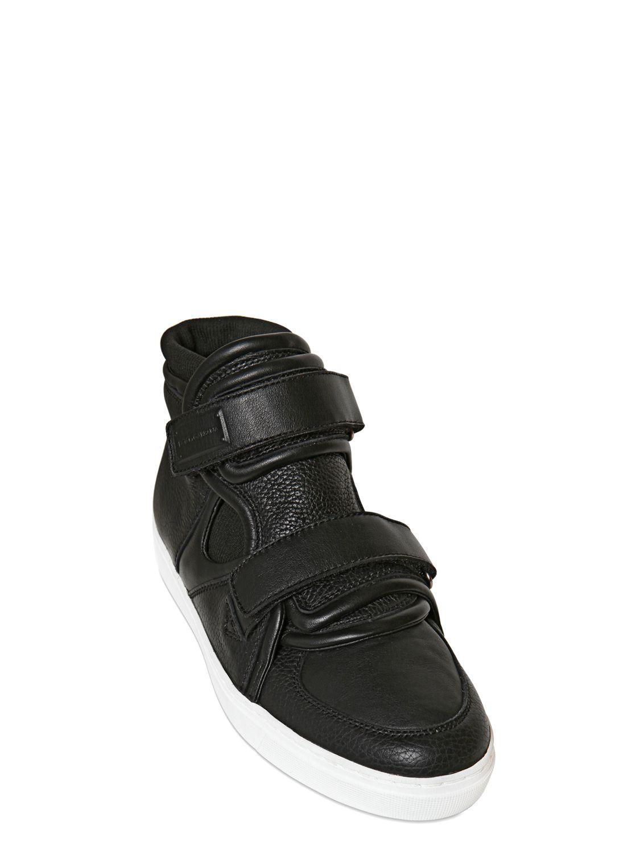 Dolce & Gabbana Black Suede High-Top Sneakers WSwpbkX56C