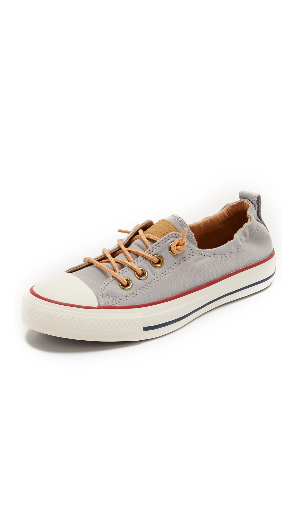 8b5705848a2 Converse Gray Chuck Taylor All Star Shoreline Sneakers - White/biscuit/egret