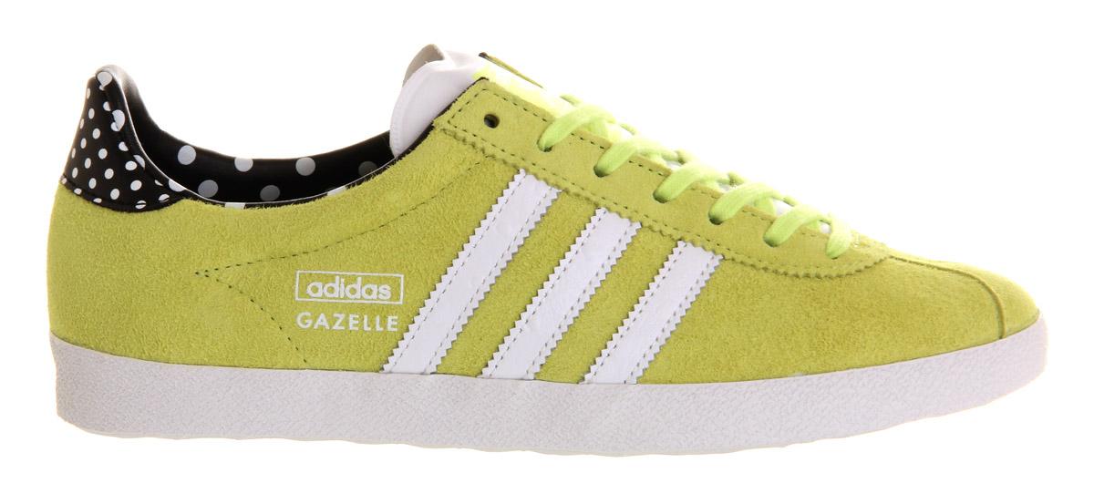 adidas Rubber Gazelle Og W in Yellow - Lyst
