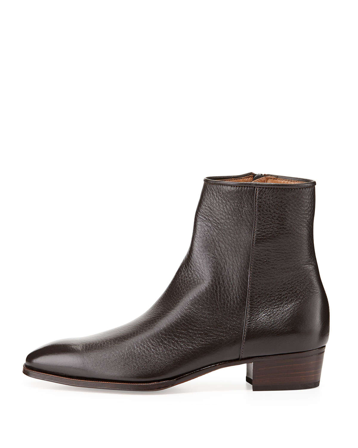 Mens Ankle Zip Boots - Boot Hto
