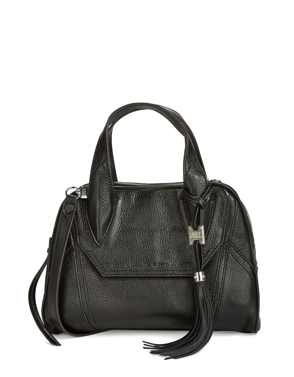 lyst aimee kestenberg madison satchel in black