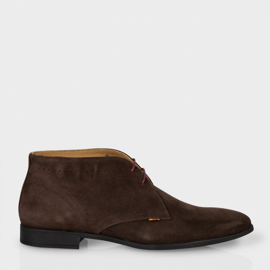 paul smith s brown suede wilkinson desert boots