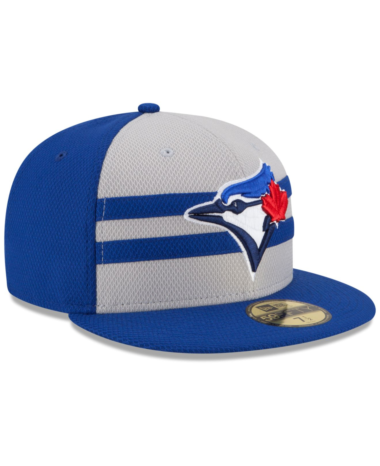 brand new bdb2a f45fb shop new york mets new era 2018 memorial day on field 59fifty fitted hat  black 7f8df 1658e  denmark lyst ktz toronto blue jays 2015 all star game  59fifty ...