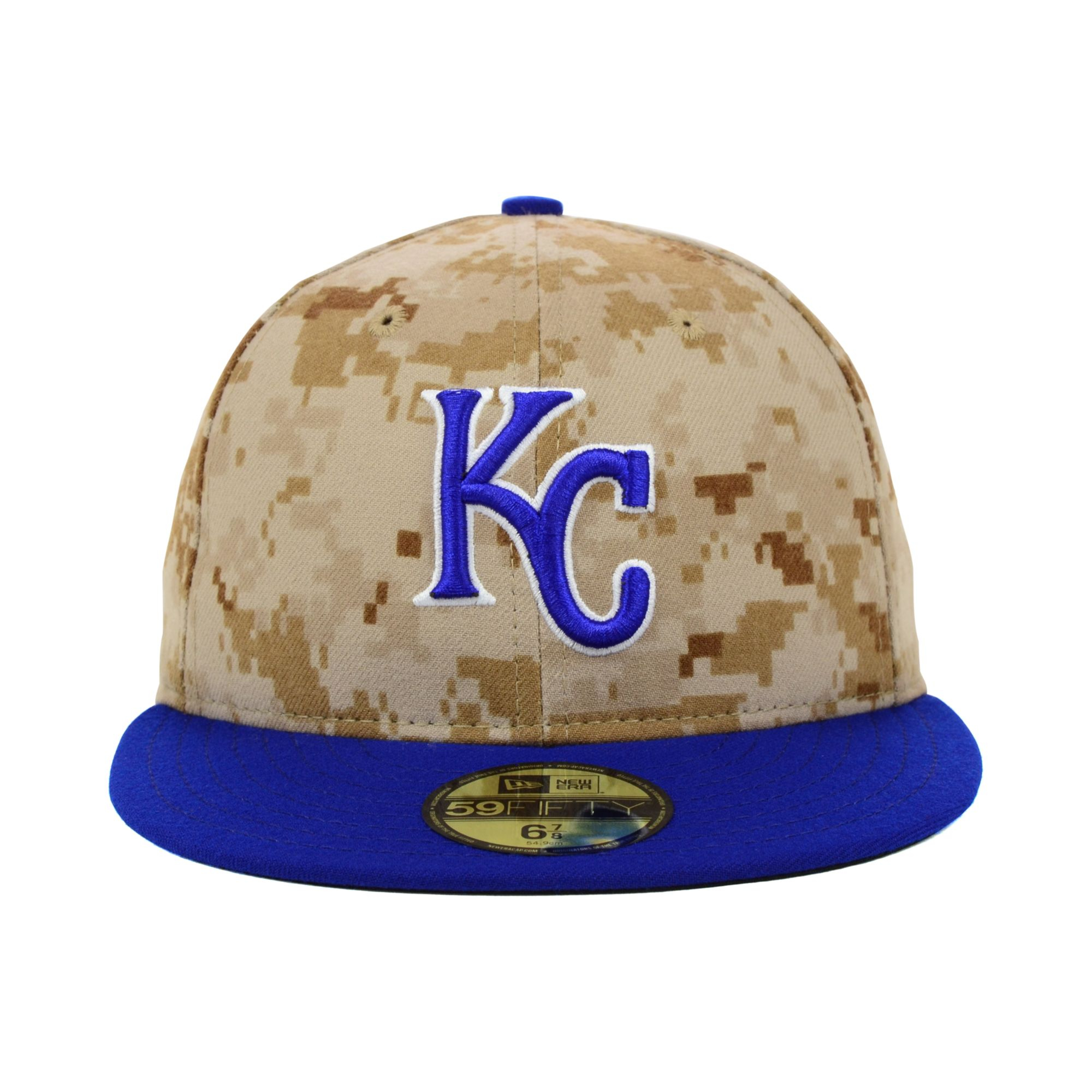 ... store lyst ktz kansas city royals stars and stripes 59fifty cap in  brown f14c0 f44a4 1c678629eb3