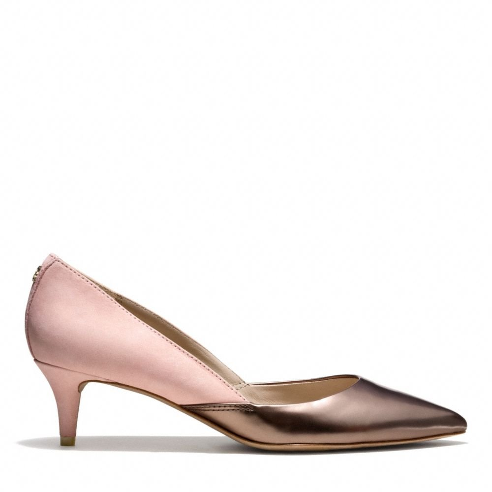 Coach Chambers Heel In Pink Lyst
