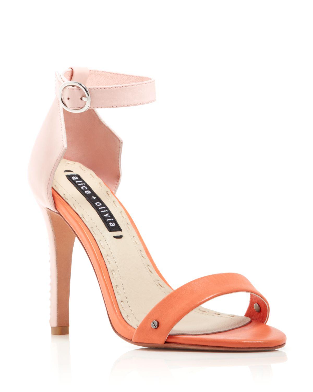 Light Pink High Heel Sandals - Is Heel