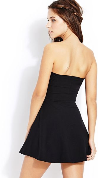 black tube dress forever 21 - photo #10