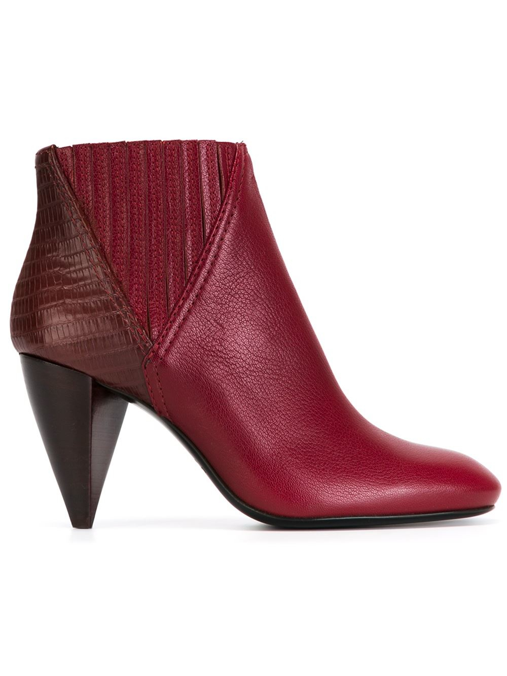 lanvin ankle boots in lyst