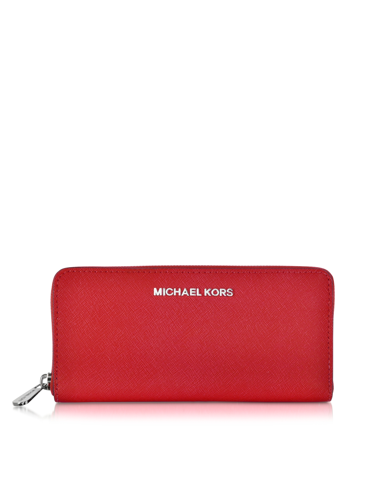 2e391dd555b6 ... shopping lyst michael kors jet set travel saffiano leather continental  44689 87fee