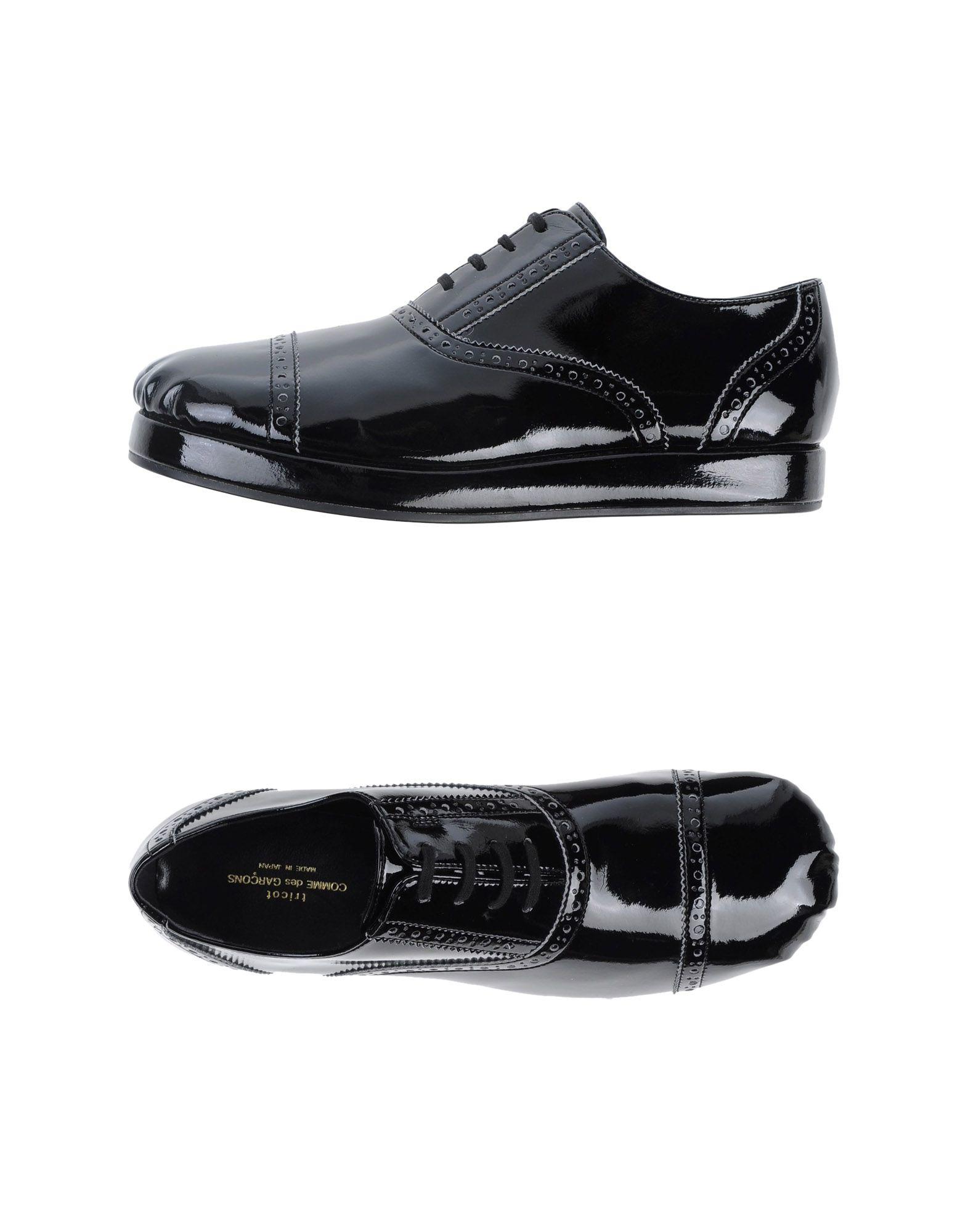 d809d28c251d74 Lyst - Comme Des Garçons Tricot Lace-up Shoes in Black