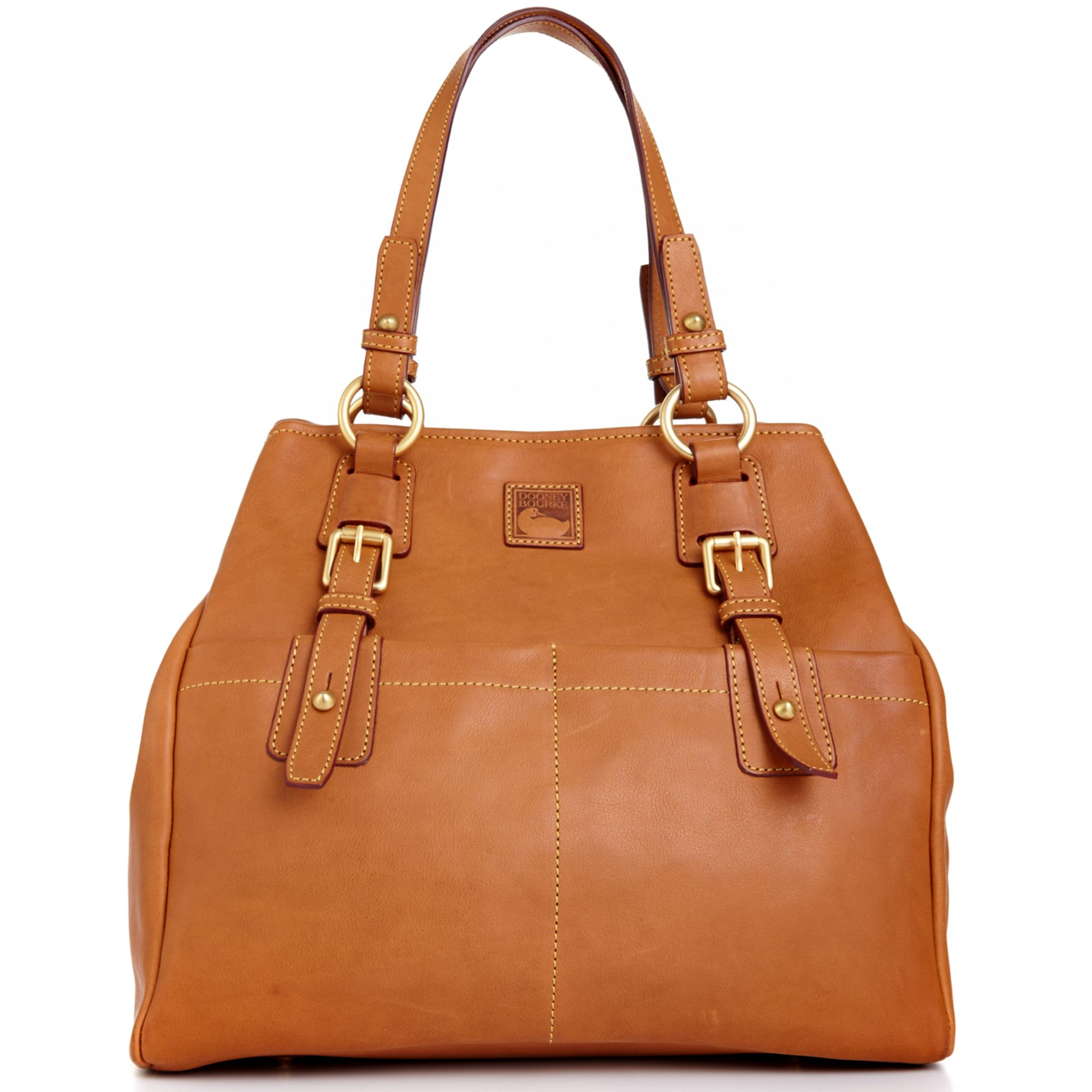 b3f0d2d92b0 Dooney & Bourke Brown Large Convertible Shopper