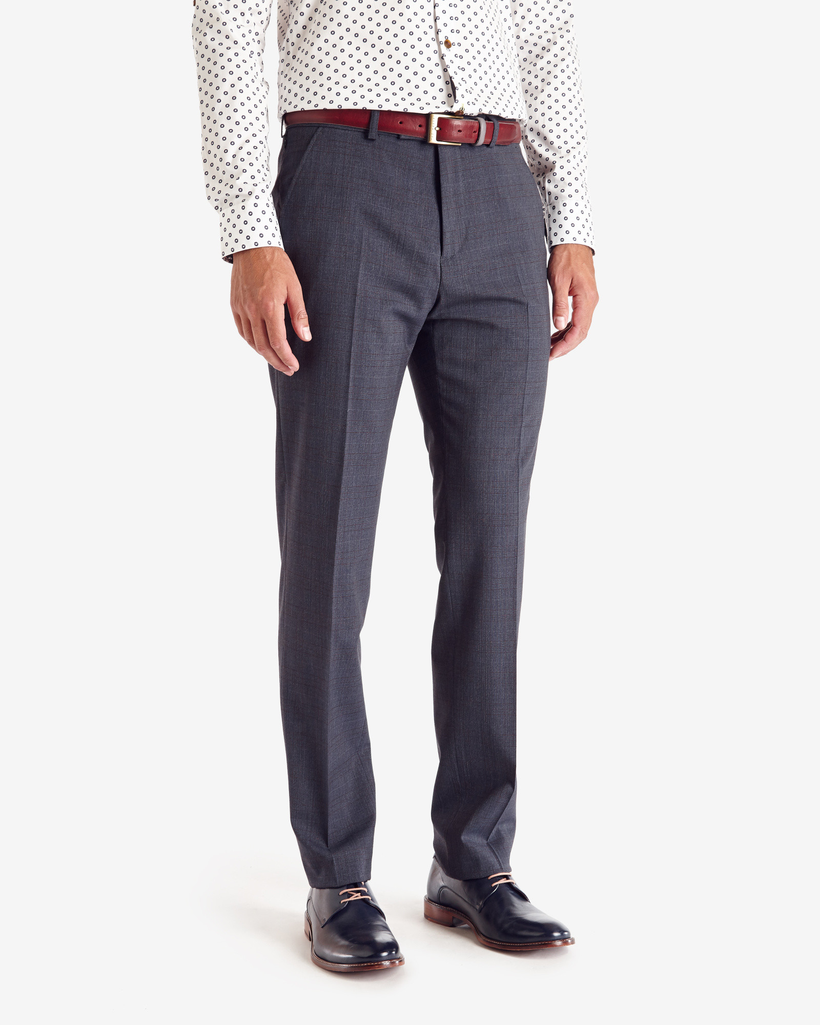 Suit The Trousers Checked Cycling Commuter