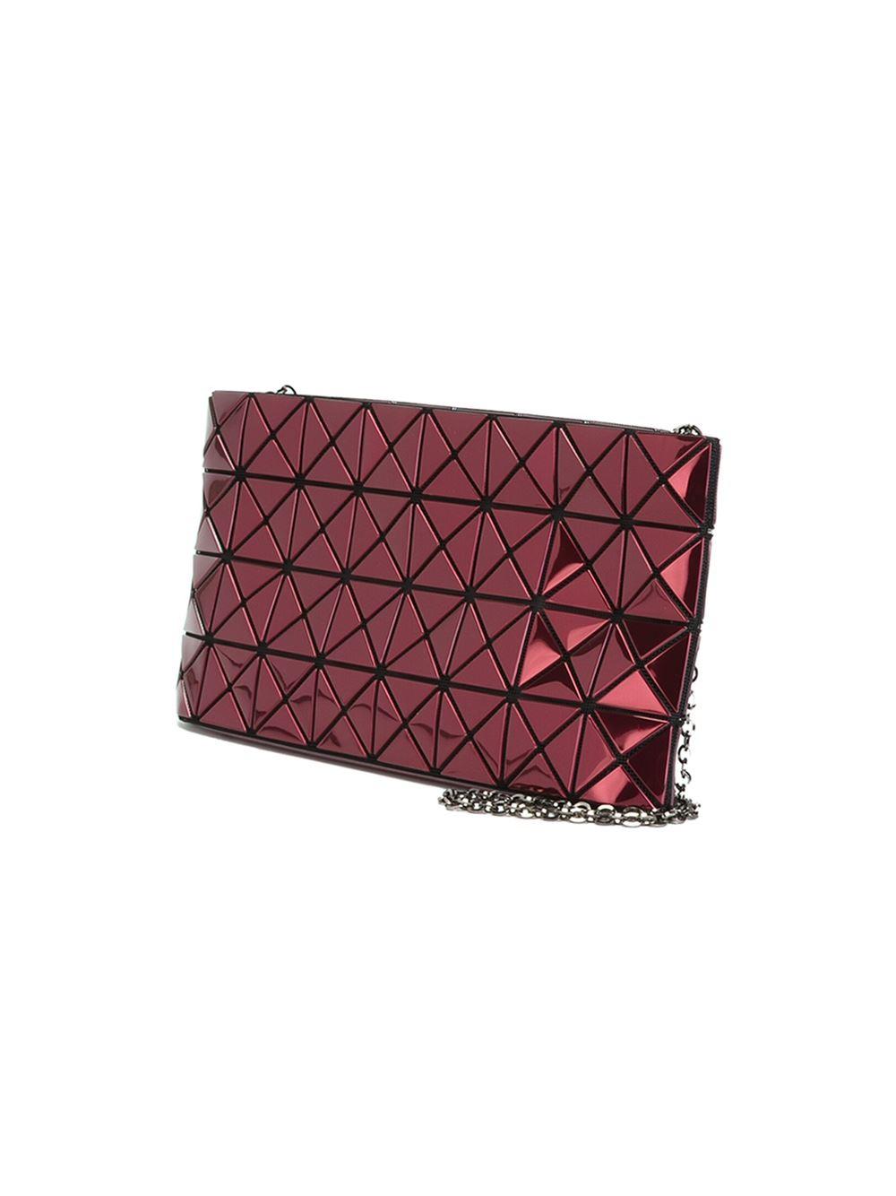 Bao Bao Issey Miyake Platinum 2 Shoulder Bag In Pink