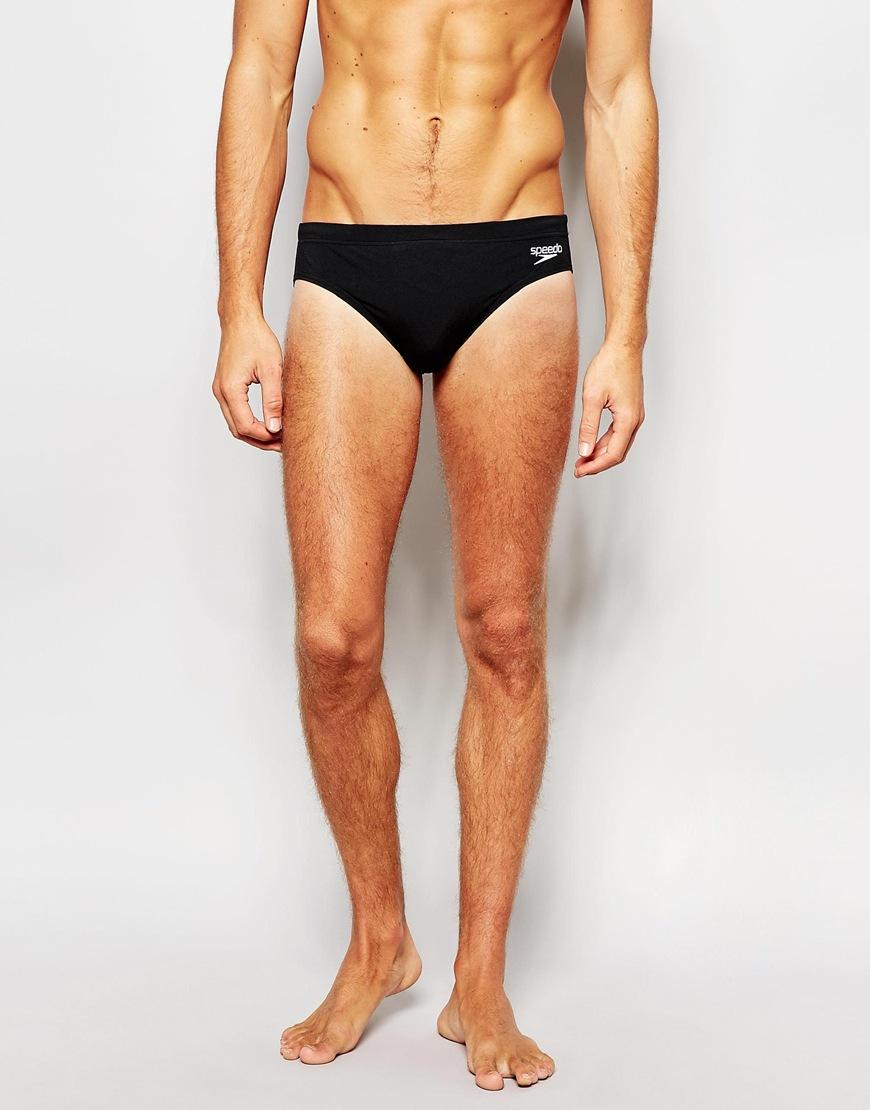 fd5740a11cc19 Speedo Endurance 7cm Swim Trunks - Black in Black for Men - Lyst