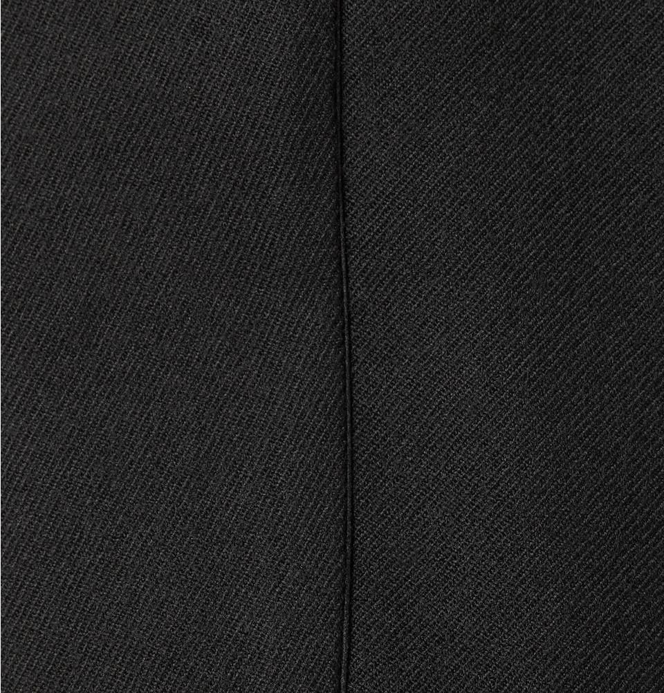 Alexander McQueen Slim-Fit Satin-Trimmed Wool-Gabardine Tuxedo Trousers in Black for Men