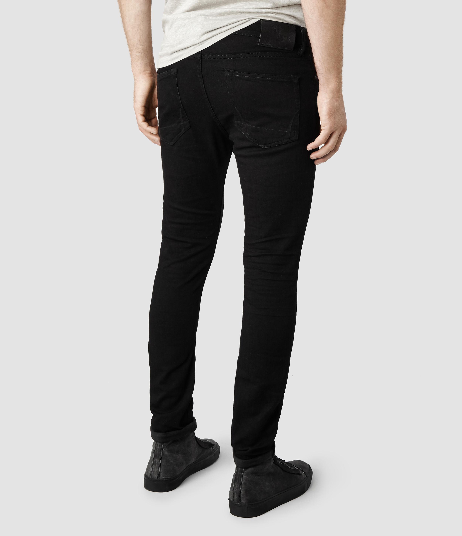 Black Crow Vintage Washed Mens Denim Jeans