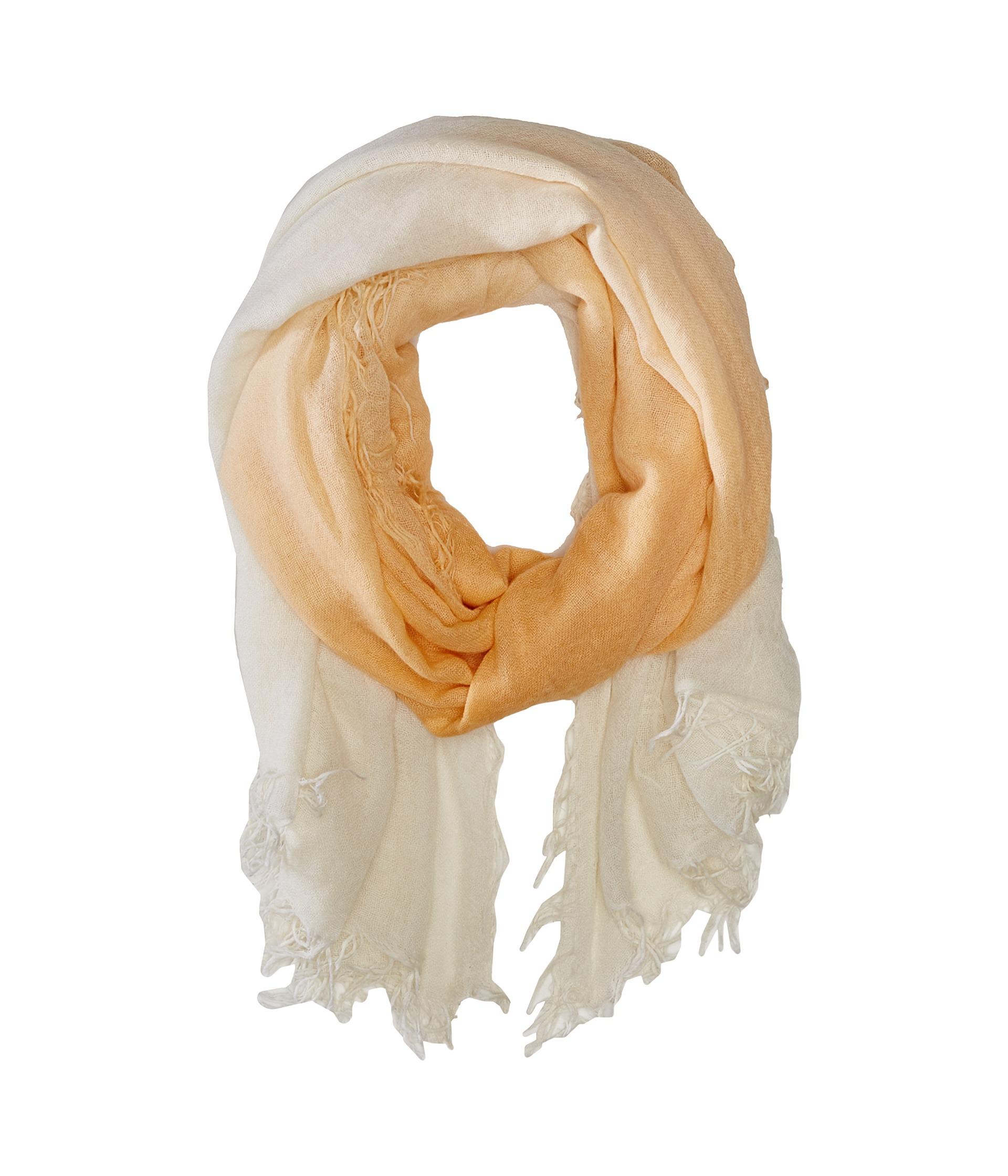 chan luu shadow dye and silk scarf in beige