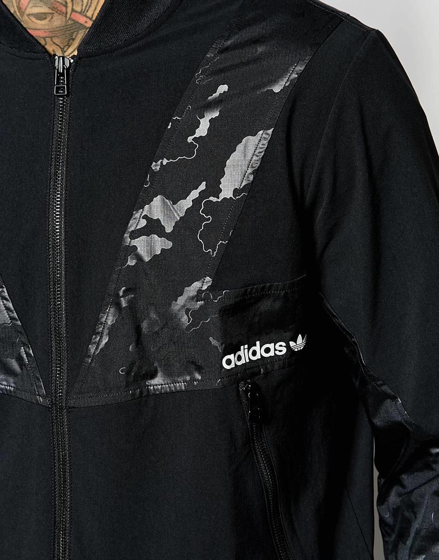 9176f3c90456 Lyst - adidas Originals Modern Track Jacket Aj7621 in Black for Men