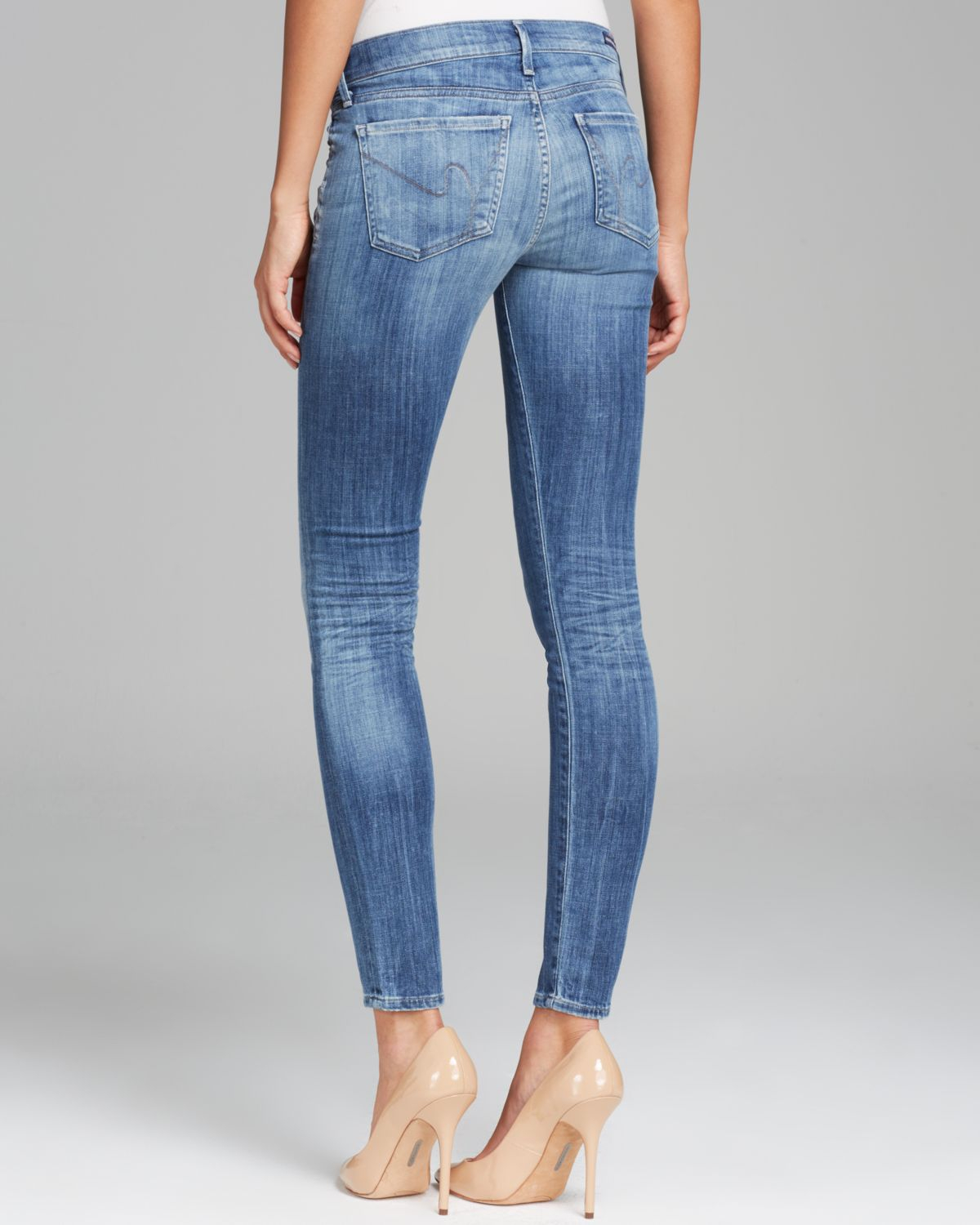 Lyst - Citizens Of Humanity Jeans - Avedon Ultra Skinny In Montauk in Blue