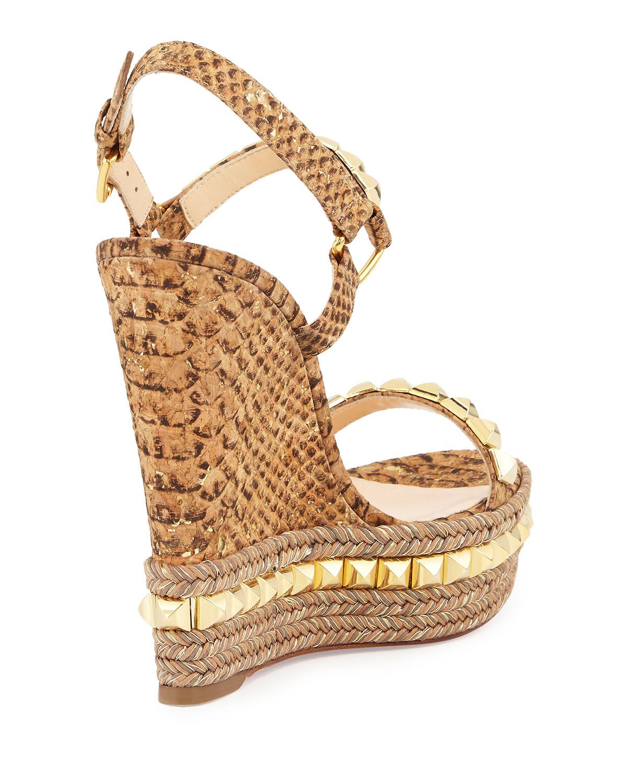 ac5950523307 fake mens louboutin shoes - Christian louboutin Cataclou in Brown