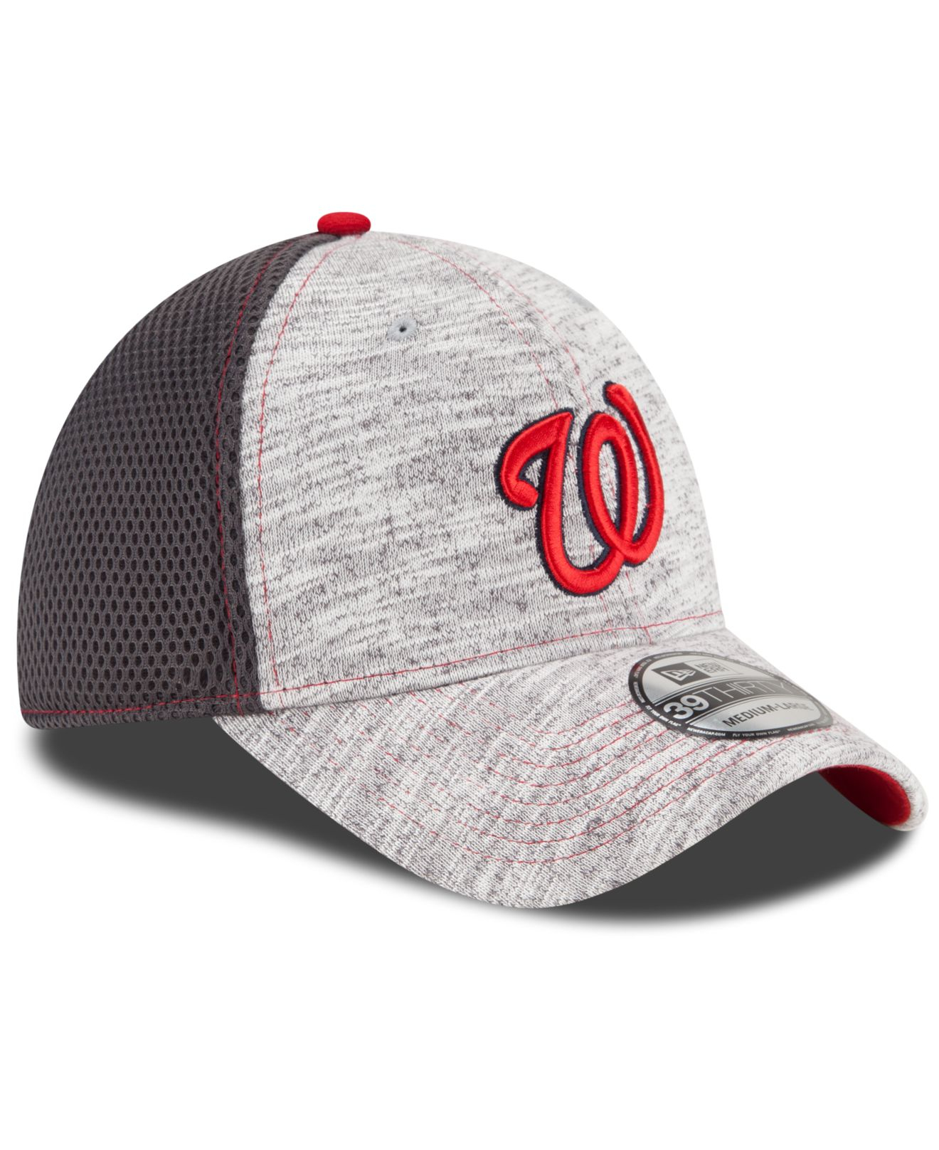sneakers for cheap 4fce6 9498c ... usa lyst ktz washington nationals clubhouse 39thirty cap in gray for  men c2555 5cdbe