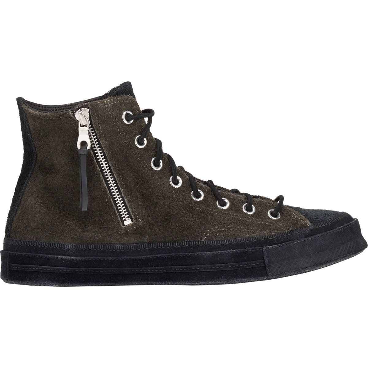 960f5d7508cf Converse Chuck Taylor All Star 1970 s Hi Zip Sneakers in Black for ...