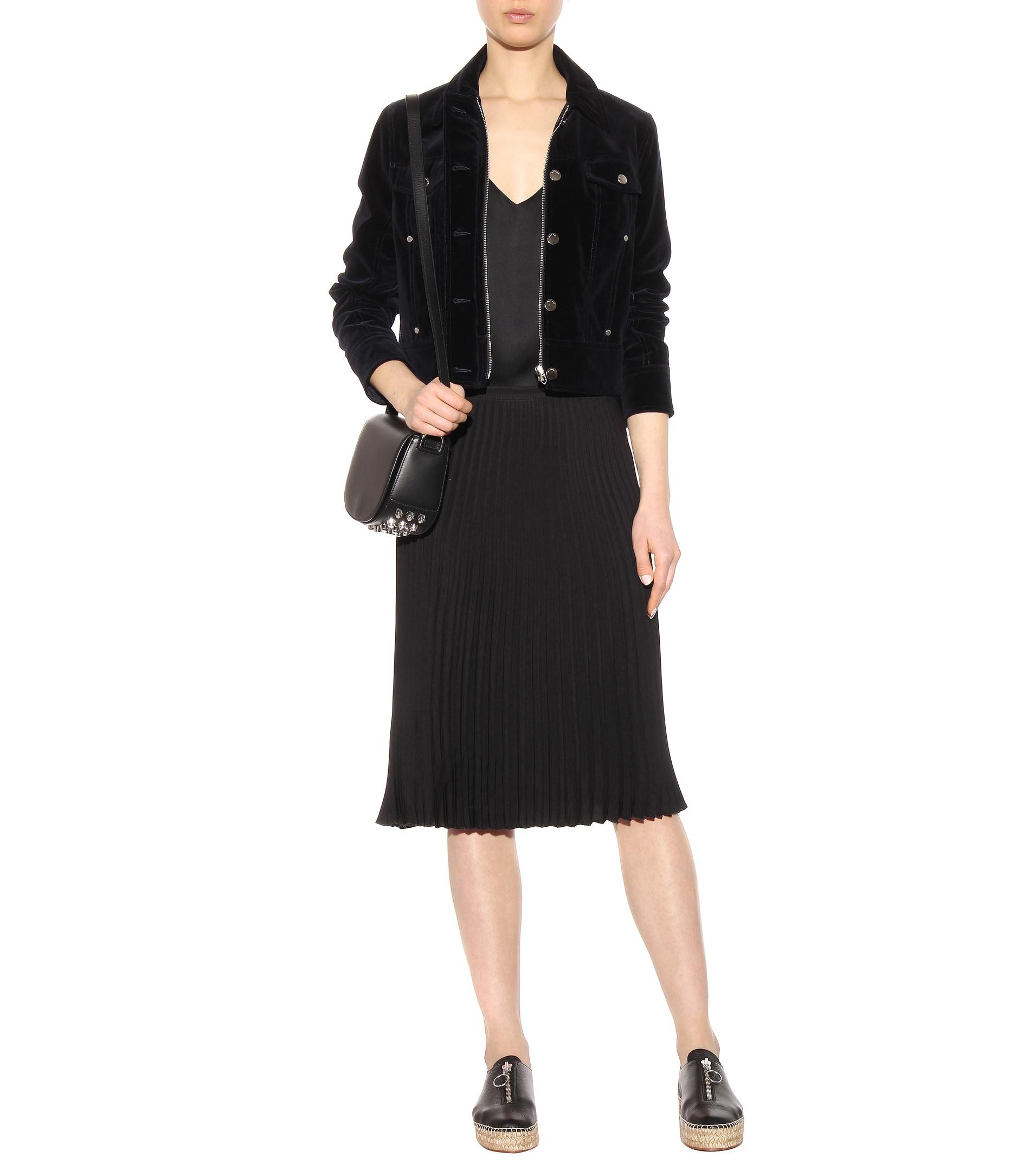Alexander Wang Devon Leather Espadrille