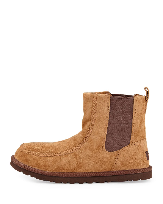 799ac401605 UGG Brown Bloke Ii Suede Chelsea Boot