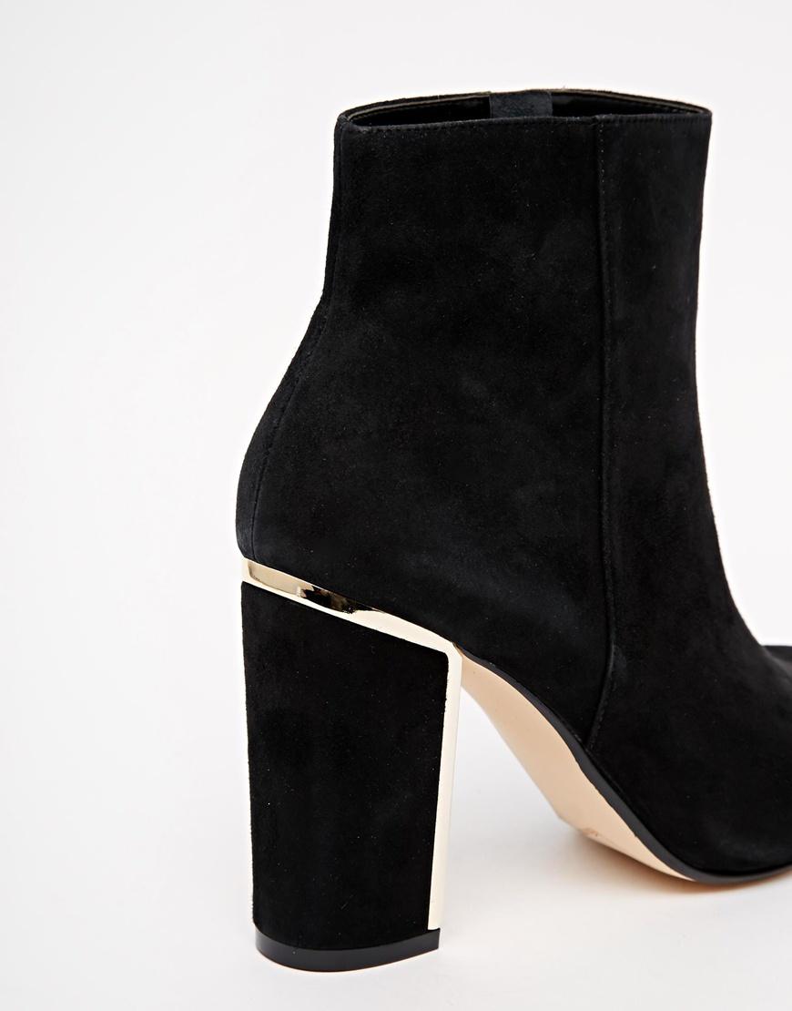 Gold Heel Boots Ha Heel