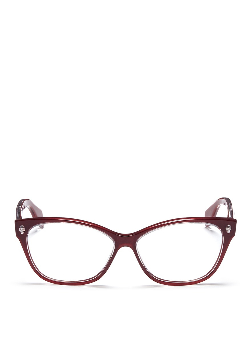 Cat Eye Glasses With Studs