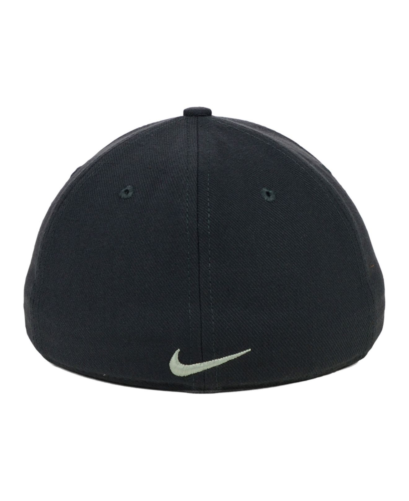 Lyst - Nike Arkansas Razorbacks True Platinum Swooshflex Cap in Gray ... 628f511d19ed